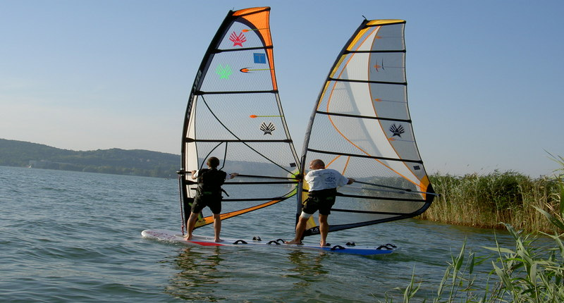 Hungary Wind Surfing