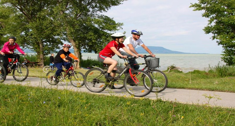 Hungary Lake Balaton by bike