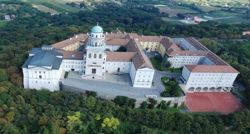Hungary The Benedictine monastery of Pannonhalma
