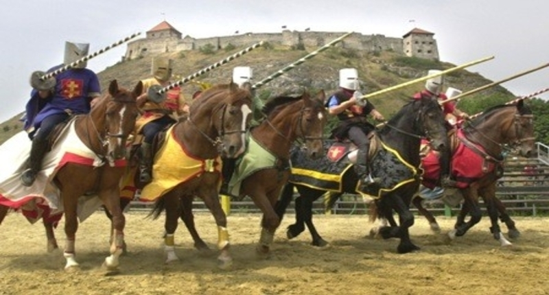 Hungary Knight tournaments at Sümeg Castle