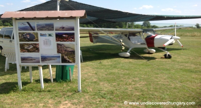 Hungary Tourist flight by Lake Balaton