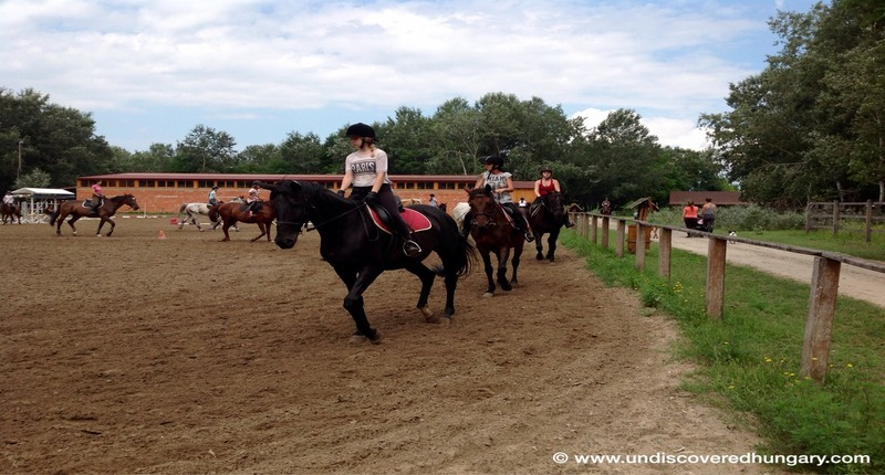 Hungary Children's holiday camp with horse riding and accommodation