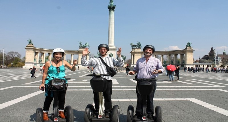 Hungary Segway tours in Budapest, City Park or Castle District