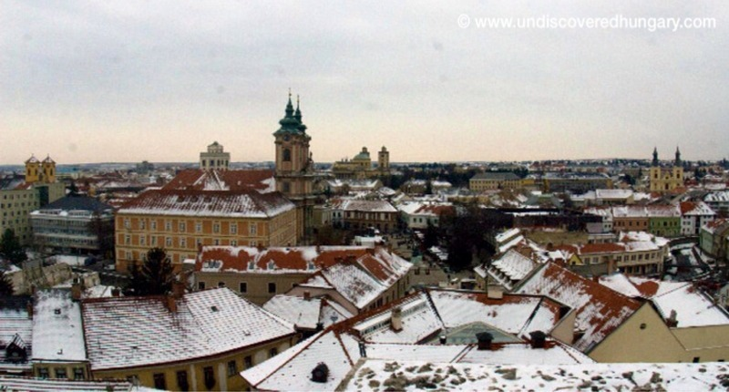 Eger_in_the_snow_hungary